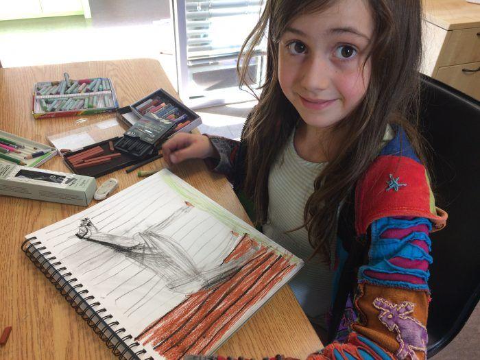 Cours dessin 7-12 ans