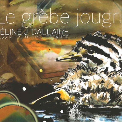 Le grèbe jougris - Céline J. Dallaire