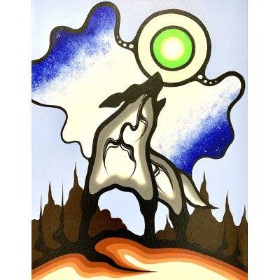 Howling wolf - Sky Polson