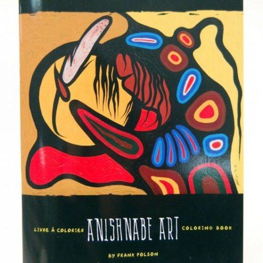 Livre à colorier Anishnabe - Frank Polson