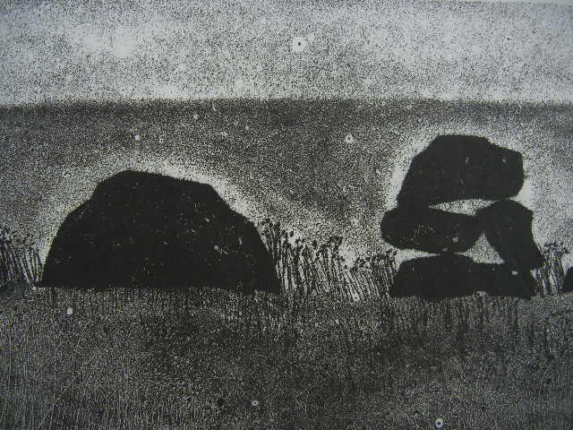 Rocher n°14 – René Derouin